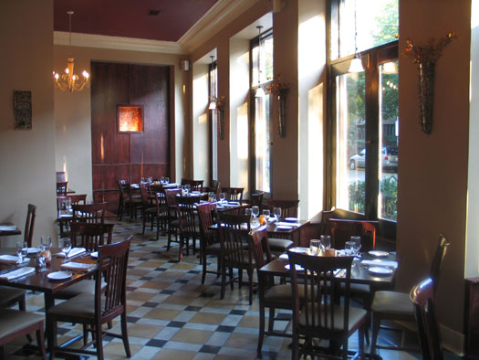 Inside RoPa Restaurant at 1146 W. Pratt Blvd.